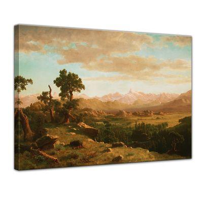 Albert Bierstadt - Wind River Country – Bild 1