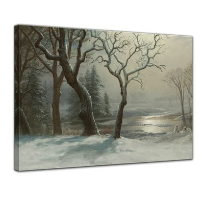 Albert Bierstadt - Winter in Yosemite – Bild 1