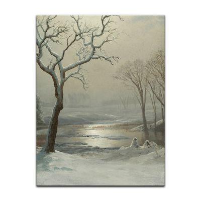 Albert Bierstadt - Winter in Yosemite – Bild 2