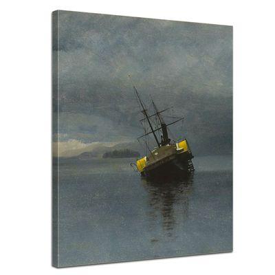 Kunstdruck - Alte Meister - Albert Bierstadt - Wreck of the Ancon – Bild 1