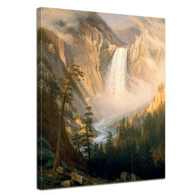 Albert Bierstadt - Yellowstone Falls – Bild 1