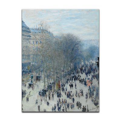 Claude Monet - Boulevard des Capucines – Bild 2