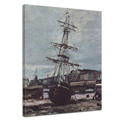Claude Monet - Gestrandetes Boot in Fécamp – Bild 1