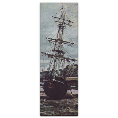 Claude Monet - Gestrandetes Boot in Fécamp – Bild 3