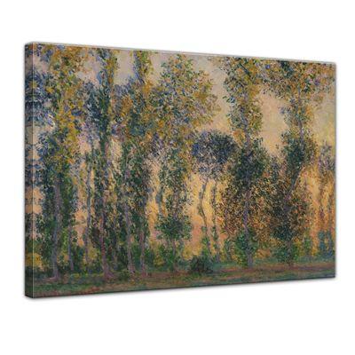Claude Monet - Pappeln bei Giverny, Sonnenaufgang – Bild 1