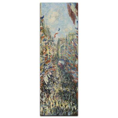 Claude Monet - Die Rue Montorgueil in Paris, Feier Juni 30 – Bild 7