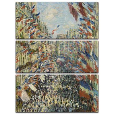 Claude Monet - Die Rue Montorgueil in Paris, Feier Juni 30 – Bild 10