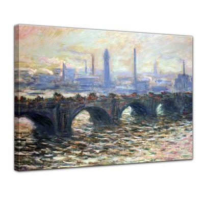 Claude Monet - Die Waterloo Brücke – Bild 1