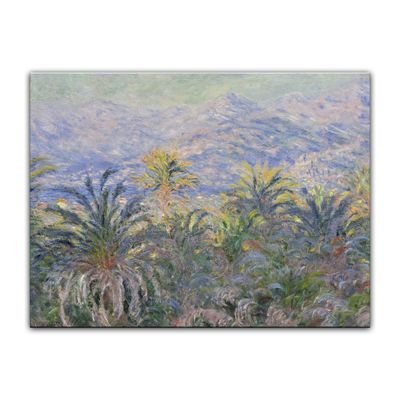 Kunstdruck - Alte Meister - Claude Monet - Palmen in Bordighera – Bild 2