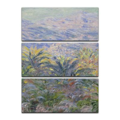 Kunstdruck - Alte Meister - Claude Monet - Palmen in Bordighera – Bild 7