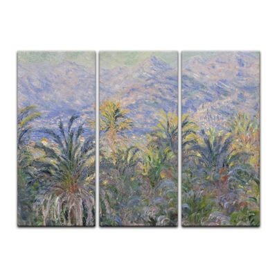 Kunstdruck - Alte Meister - Claude Monet - Palmen in Bordighera – Bild 6