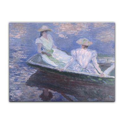 Claude Monet - Junge Mädchen in einem Boot – Bild 2