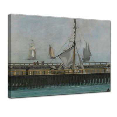 Édouard Manet - Anlegestelle in Boulogne – Bild 1