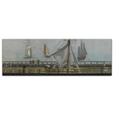 Édouard Manet - Anlegestelle in Boulogne – Bild 5