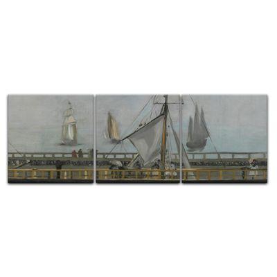 Édouard Manet - Anlegestelle in Boulogne – Bild 4