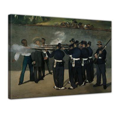 Édouard Manet - Die Erschießung Kaiser Maximilians in Mexiko – Bild 1