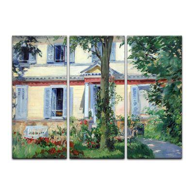 Kunstdruck - Alte Meister - Édouard Manet - Landhaus in Rueil – Bild 3