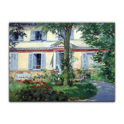 Kunstdruck - Alte Meister - Édouard Manet - Landhaus in Rueil – Bild 2