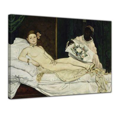 Kunstdruck - Alte Meister - Édouard Manet - Olympia – Bild 1