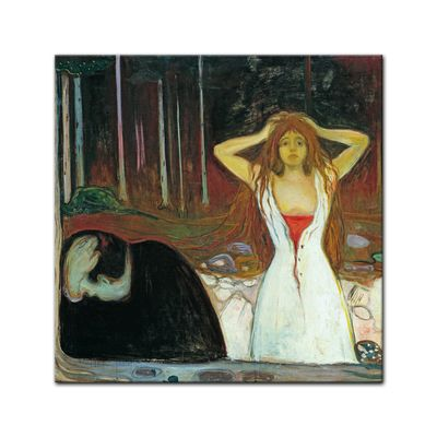 Edvard Munch - Ashes - Asche – Bild 3
