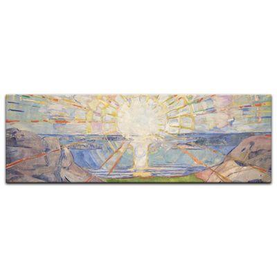 Leinwandbild - Alte Meister - Edvard Munch - Die Sonne – Bild 3