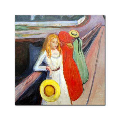 Edvard Munch - Mädchen auf der Brücke I – Bild 3