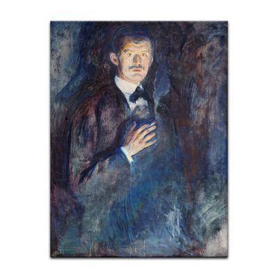 Edvard Munch - Selbstporträt mit Zigarette – Bild 2