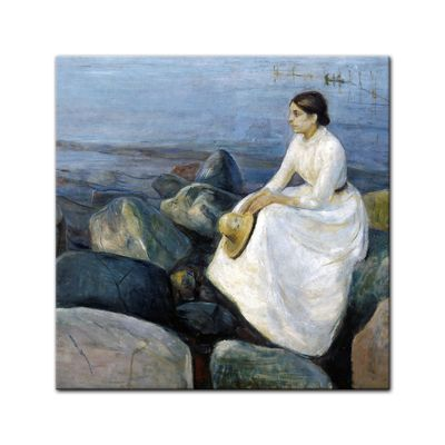 Edvard Munch - Inger on the beach - Inger am Strand – Bild 4