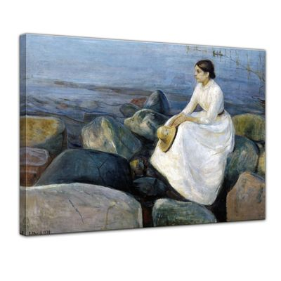 Edvard Munch - Inger on the beach - Inger am Strand – Bild 1