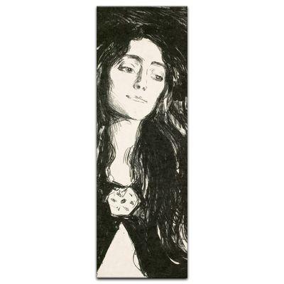 Edvard Munch - The Brooch - Die Brosche - Eva Mudocci – Bild 5