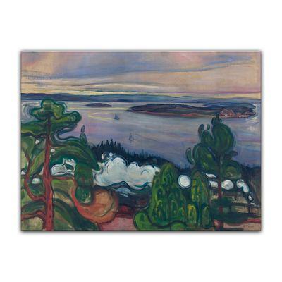 Edvard Munch - Train Smoke – Bild 2
