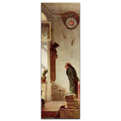 Leinwandbild - Alte Meister - Carl Spitzweg - Der Kaktusliebhaber – Bild 9