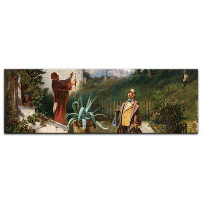 Kunstdruck - Alte Meister - Carl Spitzweg - Jugendfreunde – Bild 3
