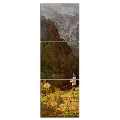 Kunstdruck - Alte Meister - Carl Spitzweg - Tiroler Mauthaus – Bild 5