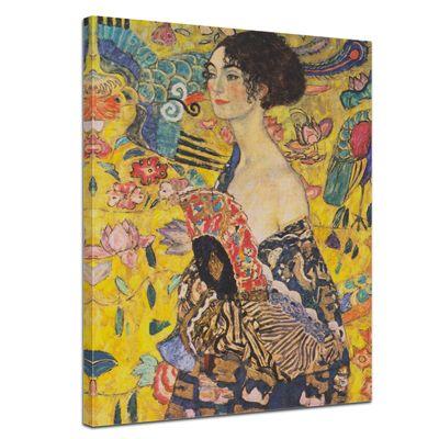 Gustav Klimt - Dame mit Fächer – Bild 1