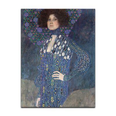 Kunstdruck - Alte Meister - Gustav Klimt - Porträt der Emilie Flöge – Bild 2