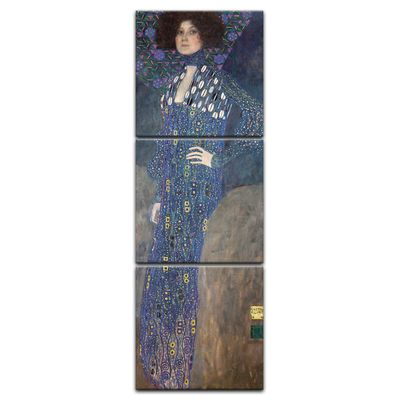 Gustav Klimt - Porträt der Emilie Flöge – Bild 8