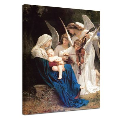 William-Adolphe Bouguereau - Das Lied der Engel – Bild 1