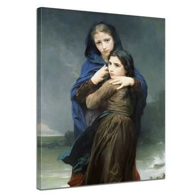 William-Adolphe Bouguereau - Der Sturm – Bild 1