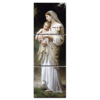 Leinwandbild - Alte Meister - William-Adolphe Bouguereau - Die Unschuld – Bild 8