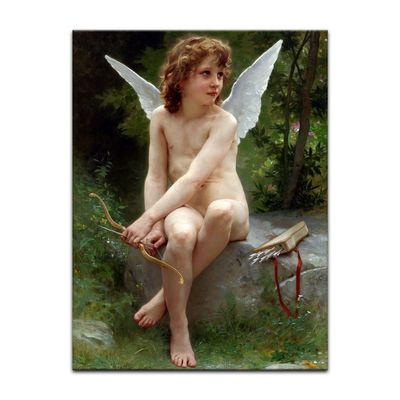 William-Adolphe Bouguereau - Love on the Look Out – Bild 2