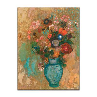 Odilon Redon - Blumen in einer blauen Vase – Bild 2