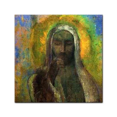 Odilon Redon - Christus in der Stille – Bild 6