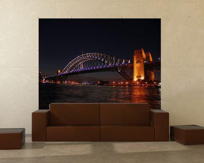 Fototapete - Harbour Bridge - Australien - 130 cm x 100 cm - farbig – Bild 1