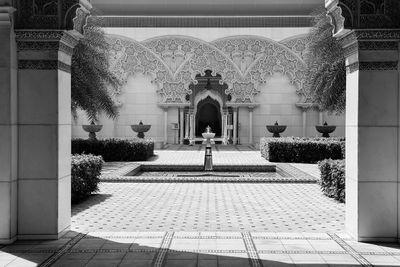 Fototapete marokkanische Architektur - Putrajaya Malaysia - 150 cm x 100 cm - schwarz/weiß – Bild 2