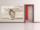 SALE Fototapete - Steinring - 150 cm x 100 cm - sepia 001