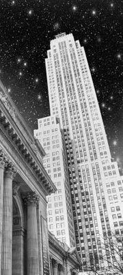 SALE - Türaufkleber New York in der Nacht  – Bild 2