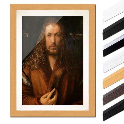 Albrecht Dürer - Selbstbildnis im Pelzrock – Bild 6