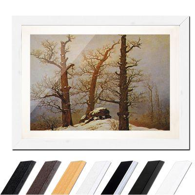 Caspar David Friedrich - Hünengrab im Schnee – Bild 8