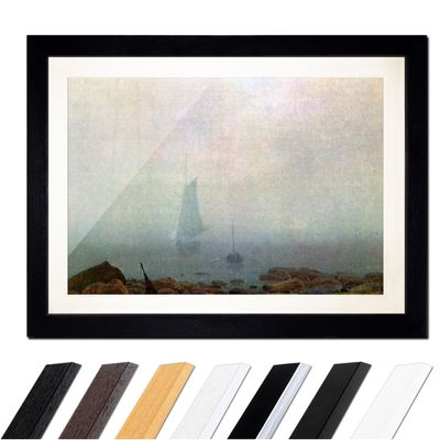 Caspar David Friedrich - Meeresstrand im Nebel – Bild 1